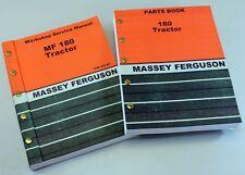 Lot Massey Ferguson 180 Tractor Parts Service Repair Shop Manual Workshop Mf180