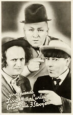 """Three Stooges Promotional Photo Poster Replica 13x19"""" Photo Print"""