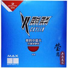 2 x Reactor TT-Belag - Ckylin rot/schwarz - Schwamm 2,1 mm medium-soft
