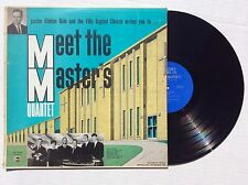 MEET THE MASTER'S QUARTET of Indianapolis Indiana vinyl LP southern gospel MINT