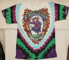 "Brand New Liquid Blue Grateful Dead ""Seasons"" Tie Dye T-shirt L"