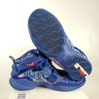 Nike Lebron Soldier IX 9 810803-418 Royal/white/crimson Mens Size 11.5