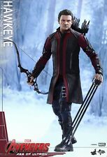 "Hawkeye The Avengers Age of Ultron Marvel MMS289 12"" Figur Hot Toys"