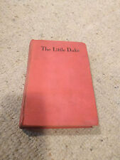 The Little Duke by Charlotte Yonge - 1932 - Red Cover