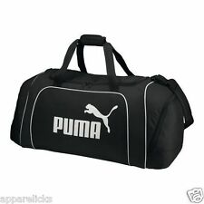 PUMA Large Athlete Team Duffle Bag Shoulder Strap & Easy Carry Holdall Handles UK