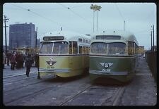 Original Kodachrome Trolley Slide PA PTC PCC Transit Metro SEPTA Philidelphia RR