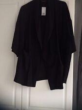 Dorothy Perkins Black Evening Tux  Jacket . Size 22. Black BNWT PERFEC