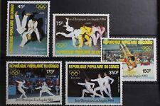Kongo (Brazzaville) 946-950 ** postfrisch Olympische Spiele #RN041