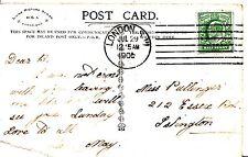 Family History Postcard - Pullinger - Essex Road - Islington - Ref 1199A