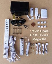 1:12 Miniatura Per Casa Delle Bambole 12 Volt Illuminazione Accessorio Mega