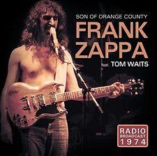 FRANK ZAPPA FEAT. TOM WAITS - SON OF ORANGE COUNTRY/RADIO BROADCAST 1974 CD NEU