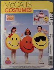 NOS McCall's Costume Pattern P431 Size Adult Emoji Smiley Face New Old Stock