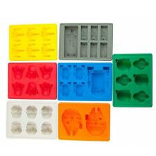 7 Sets Star Wars Ice Tray Silicone Mold Ice Cube Tray Chocolate Fondant Bobe DN