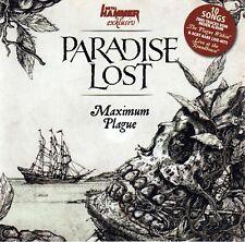 CD • PARADISE LOST • 2015 • MAXIMUM PLAGUE • (Metal Hammer Exclusive) • LIKE NEW