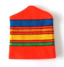44098901648 Vintage Retro Knit NEON Stripes Winter Ski Hat Beanie - Super Clean ...