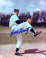 Bobby Shantz Yankees Signed 8x10 Photo Jsa Cert Sticker Authenticated Autograph