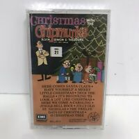 VTG Christmas With The Chipmunks Music Cassette Tape Alvin Simon Theodore Sealed