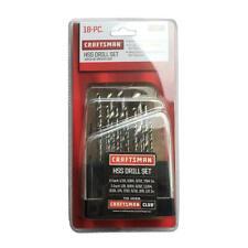 Craftsman High-Speed Steel Drill Set 18 PIECE)