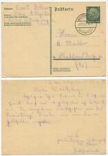 41323 - Ganzsache P 218 - Postkarte - Bad Dirsdorf 28.11.1933 nach Diethensdorf