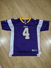 Vintage Minnesota Vikings NFL Jersey - Favre #4 -  Youth XL/Adult Small, SKOL 🏈