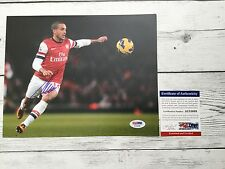 Theo Walcott Signed Arsenal FC 8x10 Photo PSA/DNA COA Autographed d