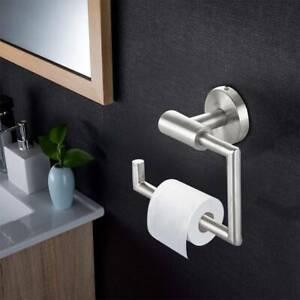 Klopapierhalter ohne Bohren Toilettenpapierhalter WC Edelstahl Klorollenhalter