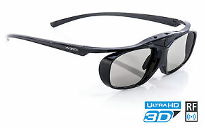 Black Heaven 3D Brillen für Epson Beamer EH-TW 5400 / 9400 / 6700 / 7400 / 7100