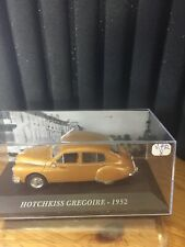 Altaya 1/43 Scale VOITURE FRANCAISE HOTCHKISS GREGOIRE 1952