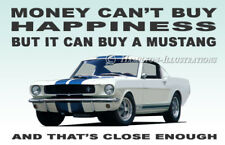 Ford Mustang V8 Notch Fastback Shelby GT350 Novelty Fridge Magnet