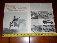 Chuck Miller Autographed Bugs Bunny Show Hot Rod Photo POSTCARD Sand Dune Buggy