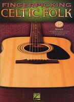 Fingerpicking Celtic Folk 15 Songs Arr Solo Guitar Notation & Tab Bk (Guitar Tab