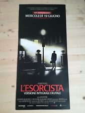 L'  ESORCISTA V.Integrale  Locandina Cinema 33x70 Poster Film Originale
