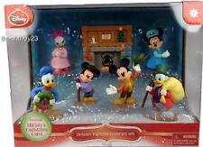 New Mickey's Christmas Carol Holiday Figures Collector Set