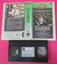 VHS film GANDHI Ben Kingsley John Mills WINNERS COLUMBIA CVT 20135 (F32) no dvd