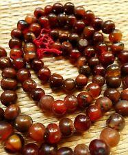 62cm Rang Perles Cornaline Ancien Afrique Mali Antique Carnelian Trade Beads