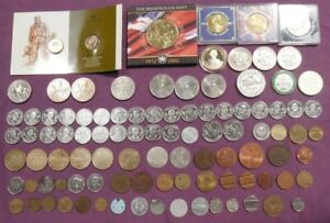 Large Collection of Tokens / Commemorative Coins Various Types (Hospiscare)