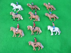 BRITAINS FARM ANIMALS, PONY CLUB, MULTI-LISTING