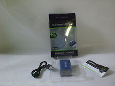 Mycharge AmpMini Portable Charger 2200mAh Charges All USB devices Soft-touch