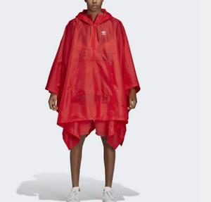 BNWOT adidas Originals Trefoil Poncho L Nylon