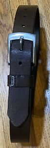 """Levis Boys Brown Leather Belt  Small 22-24"""""""