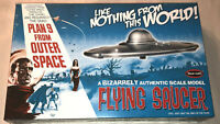 Polar Lights Plan 9 From Outer Space Flying Saucer model kit new 970 in stock