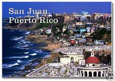 San Juan, Puerto Rico, City, Ocean 2 x 3 Travel Souvenir Fridge Magnet PR200