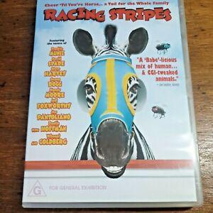Racing Stripes DVD R4 LIKE NEW FREE POST Joshua Jackson, Mandy Moore
