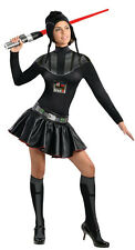 Secret Wishes Star Wars Female Darth Vader Sexy Adult Costume Size XS 0-2