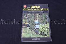 C888 Train Ho FR 1978 le Décor du train miniature Colomb maquette decoration