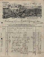 GÖRLITZ, Rechnung 1919, Bijouterie- & Spielwaren Ferdinand Kühne