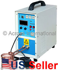 15KW 30-80KHz All Solid State Induction Heater Heating Melting Furnace System