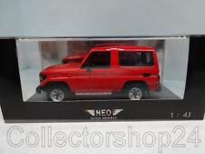 NEO : Toyota Landcruiser 70 series Red 86 - 92  - 1:43