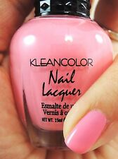 1PC Kleancolor Pretty Pink Nail Polish #317 Rose Bouquet - Rose Scented!