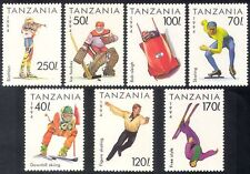 Tanzania 1994 Sports/Winter Olympic Games/Skiing/Ice Hockey/Shooting 7v (n39886)